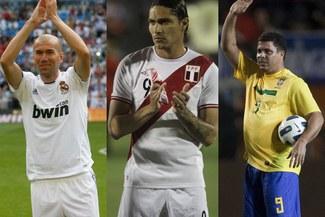 Con los grandes: Paolo Guerrero jugaría junto a Ronaldo Y Zinedine Zidane