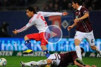 Sigue en la zona de descenso: Hamburgo empató 2-2 ante el Bayer Leverkusen