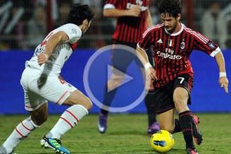 Milan venció 1-0 al PSG en Dubai y obtuvo el título de la Challenge Cup