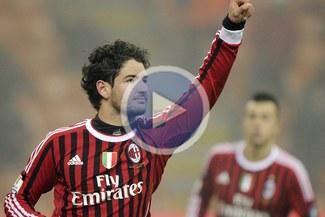 Milan derrotó 2-1 al Novara y avanzó a cuartos de la Copa Italia