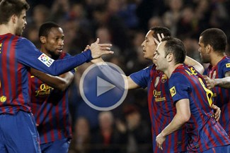 Sigue en la lucha: Barcelona venció 3-1 a Sporting Gijón y se acerca a siete puntos de Madrid