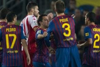 Gerard Piqué fue suspendido una fecha y sancionado económicamente por su expulsión