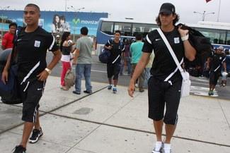 Con la cabeza en alto: Alianza Lima llegó esta mañana a Lima