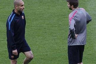 Guardiola pide como condición para renovar con el Barcelona que Piqué deje el club