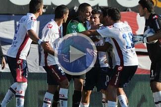 Video: Mira el polémico gol de Colón a San Lorenzo que produjo actos vandálicos en Argentina