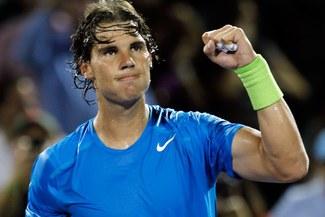 Rafael Nadal sumó una nueva victoria ante Giraldo y alcanzó la tercera ronda