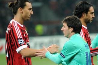 Messi e Ibrahimovic tendrán un duelo aparte mañana por la Champions