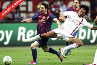Minuto a Minuto: Barcelona 3-1 Milan