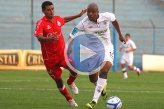 Luis Perea: Agradezco a Dios por mis tres goles y porque el equipo ganó