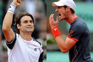 Finalista español: David Ferrer venció a Andy Murray y jugará contra Nadal por en semifinal