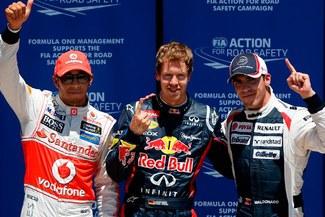 Sebastián Vettel saldrá logró la 'pole' en el Gran Premio de Europa