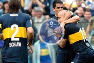 Boca Juniors lidera en Argentina al vencer a Independiente por 2-1 [VIDEO]