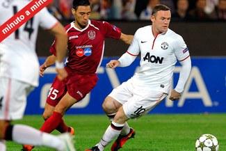 MINUTO A MINUTO: CFR Cluj 1-2 Manchester United