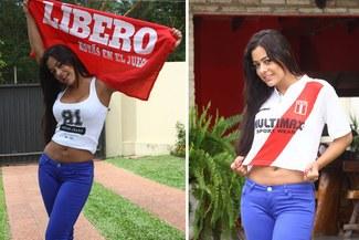 Larissa Riquelme a LÍBERO: Paolo Guerrero es lindo, pero temible en el área