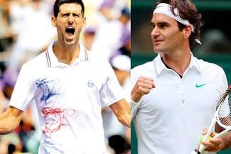 Novak Djokovic desplazará a Roger Federer de la cima del rankig de la ATP