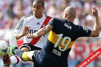 MINUTO A MINUTO: River Plate 2-2 Boca Juniors