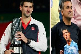 Novak Djokovic interrumpió su estancia en París para visitar a su padre