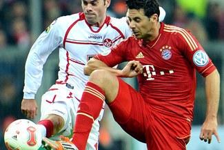 Claudio Pizarro sale por más goles en el Bayern Múnich-Hamburgo