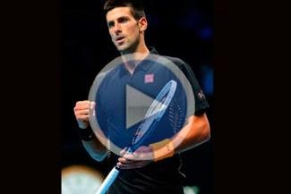 Novak Djokovic remonta a Andy Murray y acaricia semifinal del Masters [VIDEO]