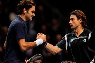 David Ferrer aspira a ganar a Roger Federer por vez primera en Copa de Maestros