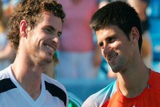 Andy Murray y Novak Djokovic avanzan a semifinales del Masters