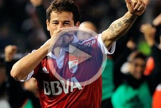 River Plate superó a Unión con doblete del uruguayo Rodrigo Mora