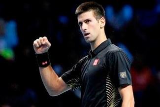 Novak Djokovic a la final del Masters de Londres al derrotar a Juan Martín del Potro