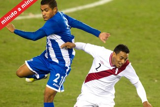 MINUTO A MINUTO: Perú 0-0 Honduras