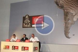 Rally Dakar 2013 fue presentado en Lima