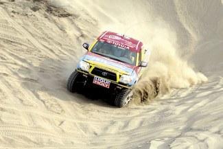 Diego Weber se puso encima el Dakar y esta vez prometió terminar la carrera