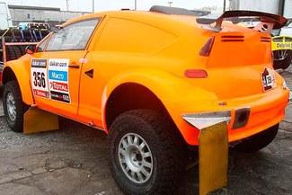 Este es el carro con el que competirá Raúl Orlandini en el Dakar 2013