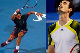 Andy Murray cayó ante Janko Tipsarevic en la primera ronda del torneo de Abu Dabi