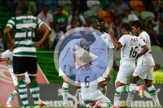 Sporting de Lisboa despide el año goleado en Copa de Portugal [VIDEO]