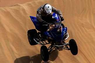 Ignacio Flores culminó cuarto la segunda etapa del rally Dakar