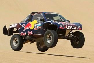 Carlos Sainz terminó la segunda etapa del Dakar fastidiado por problemas con el GPS