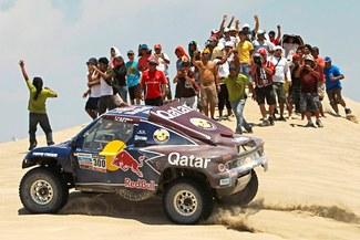 Miras las mejores imágenes de la tercera etapa del Rally Dakar