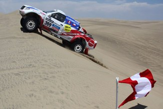 Así terminaron los peruanos la cuarta etapa del Dakar 2013