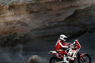 Felipe Ríos: Mi posición en el Dakar no me importa mucho, solo pienso en matener el ritmo