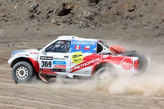 Dakar 2013: Ramón Ferreyros es el mejor de los peruanos y Diego Weber sigue en competencia