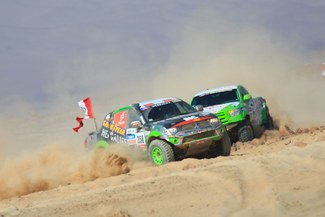 Equipo Alta Ruta 4x4 llegó a Tucumán y el lunes se reinicia el Rally Dakar 2013
