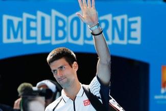 Novak Djokovic liquidó a Radek Stepanek y ya está en octavos del Abierto de Australia