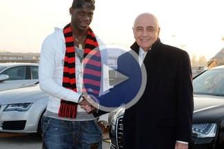 Mario Balotelli: Sabía que tarde o temprano jugaría en Milan [VIDEO]