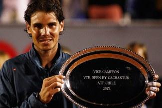 Rafael Nadal ha sumado sus primeros puntos en la ATP