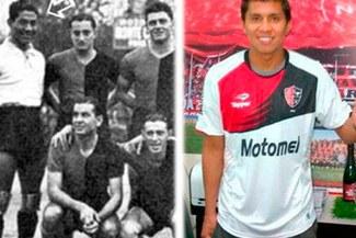 Rinaldo Cruzado es el segundo peruano en vestir los colores del Newell's Old Boys
