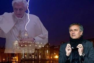 José Mourinho es candidato a suceder a Benedicto XVI en una casa de apuestas