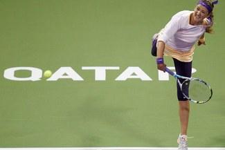 Victoria Azarenka abandonó el torneo de Dubai por molestias en pie