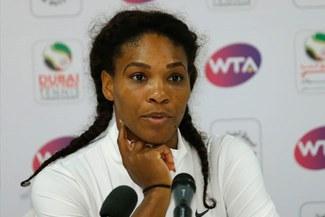Serena Williams abandonó el torneo de Dubai por lesión de espalda