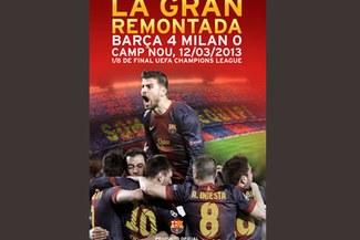 Barcelona y su gran remontada ante Milan de venta en DVD