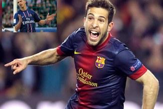 Jordi Alba: Sin Zlatan Ibrahimovic, el PSG pierde bastante en el juego aéreo