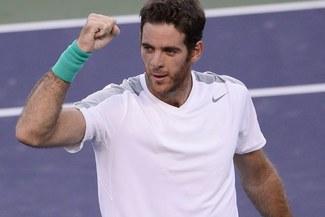 Juan Martín Del Potro jugará la final del Indian Wells ante Rafael Nadal